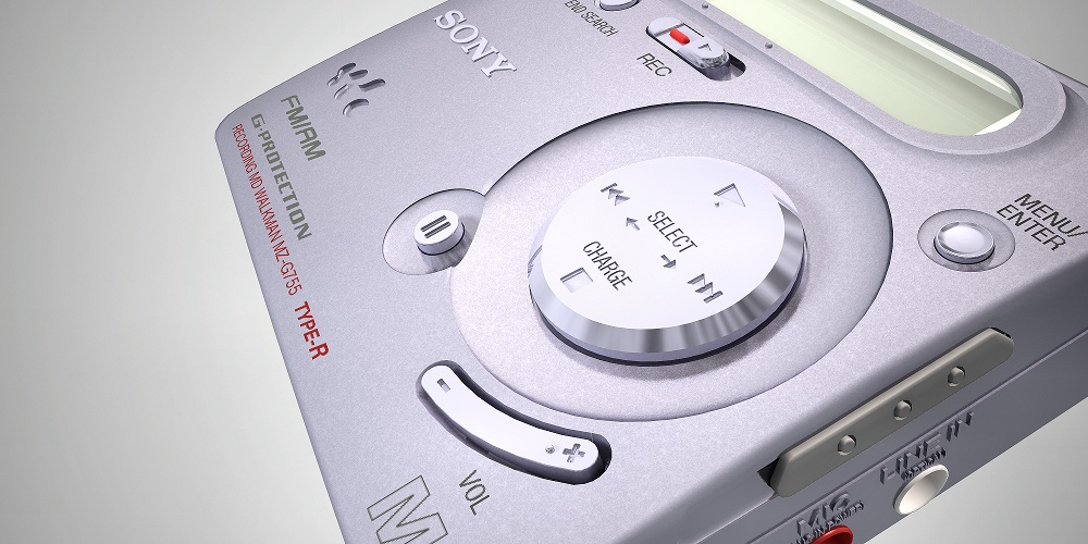 Minidisc player by Planet Indifferent