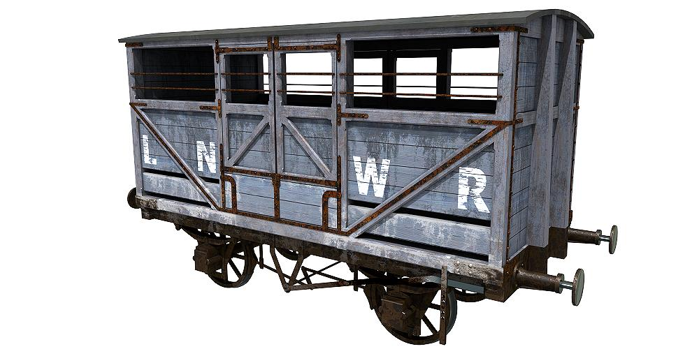 LNWR cattle wagon by Planet Indifferent