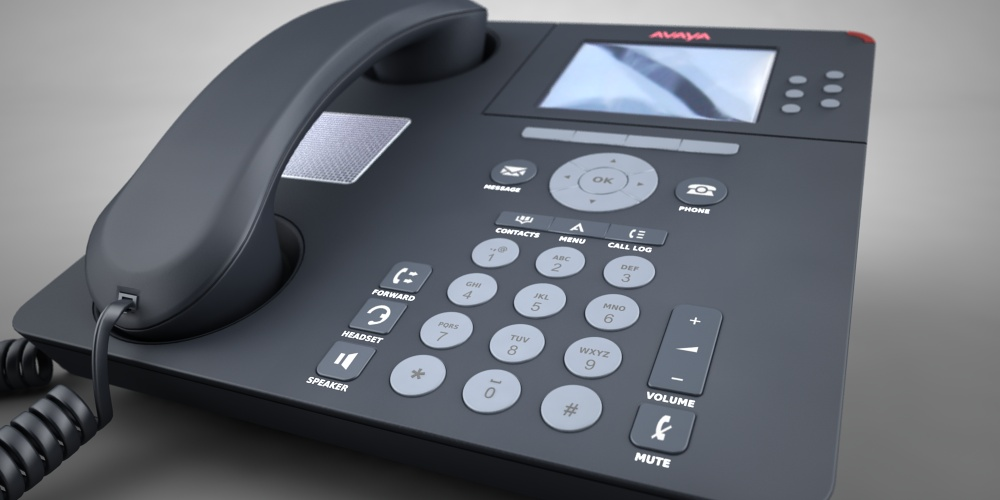 Avaya phone model by Planet Indifferent
