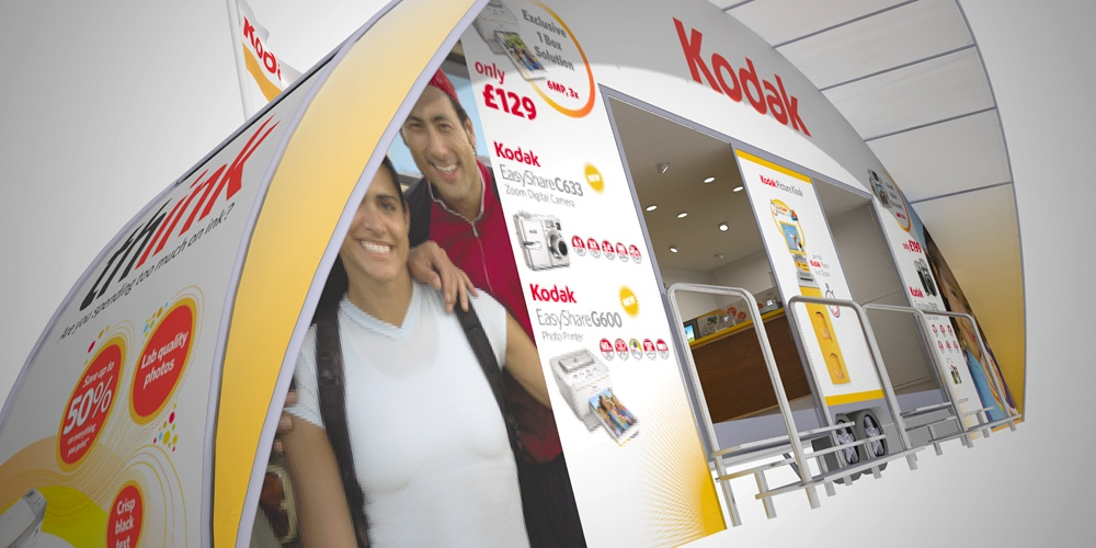 Kodak roadshow trailer visualisation by Planet Indifferent